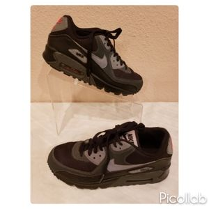Nike Air Max 90 Black/ Gray- Anthracite Silver
